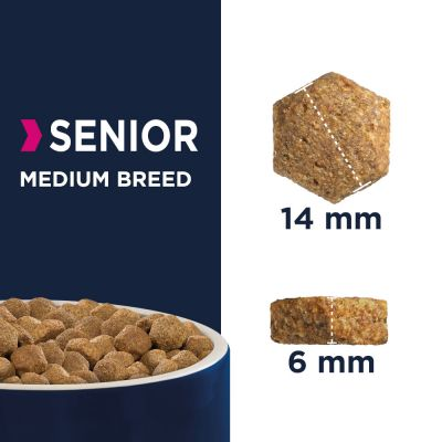 Eukanuba Caring Senior Medium Breed frango