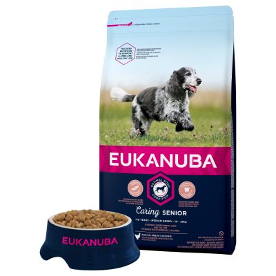 Eukanuba Caring Senior Medium Breed Pui