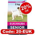 Eukanuba Caring Senior Small Breed Chicken