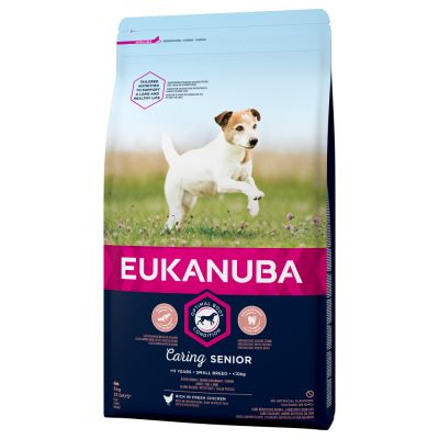 Eukanuba Caring Senior Small Breed Huhn