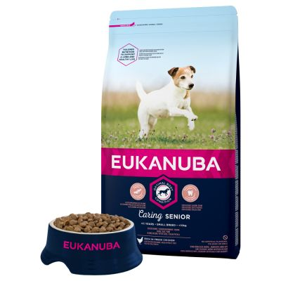 Eukanuba Caring Senior Small Breed Pui