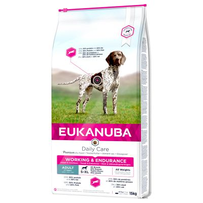 Eukanuba Daily Care Working & Endurance Adult pour chien