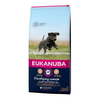 Eukanuba Developing Junior Large & Giant Breed – Chicken