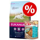 Eukanuba granule + 8in1 snack zdarma!