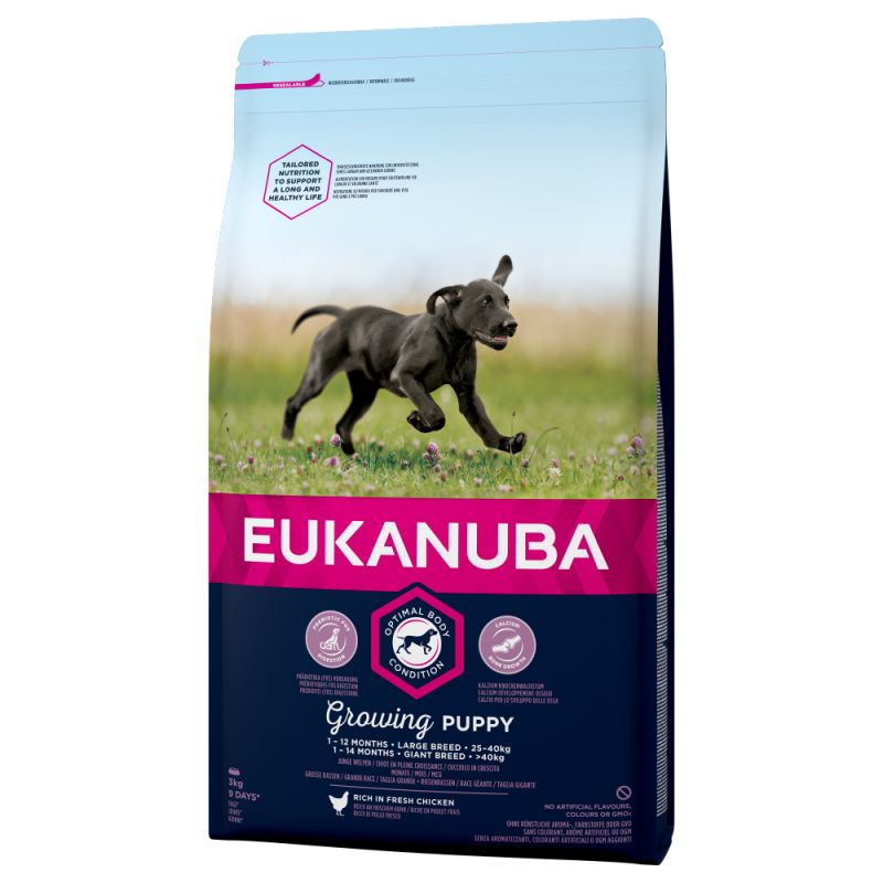Eukanuba Growing Puppy Large Breed csirke