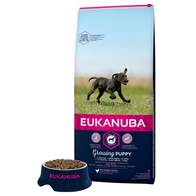 Eukanuba Growing Puppy Large Breed, kurczak