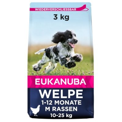 Eukanuba Growing Puppy Medium Breed Huhn