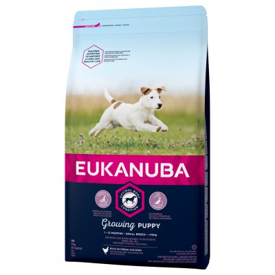 Eukanuba Growing Puppy Small Breed Huhn