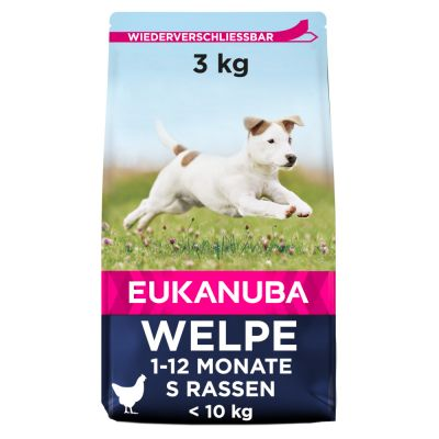 Eukanuba Growing Puppy Small Breed Kuřecí