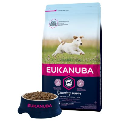Eukanuba Growing Puppy Small Breed Kylling