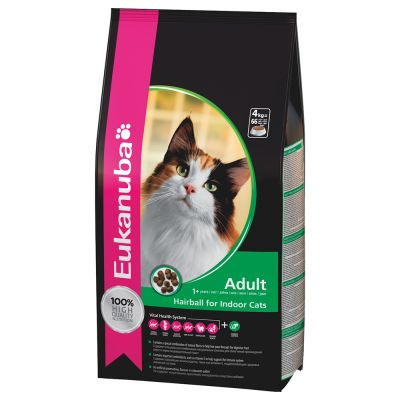 Eukanuba Hairball Control Adult pour chat