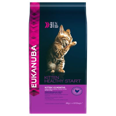 Eukanuba Healthy Start Kitten pour chaton