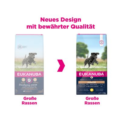 Eukanuba Junior Large Breed Huhn