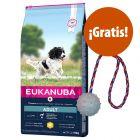 Eukanuba 12 /15 kg pienso para perros + Pelota Trixie ¡gratis!