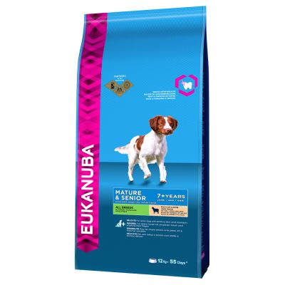 Eukanuba Mature & Senior Breed Agnello e Riso