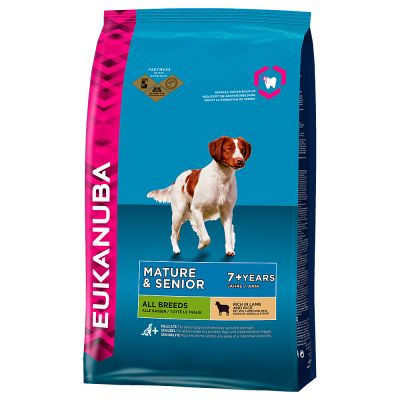 Eukanuba Mature & Senior - Lamb & Rice