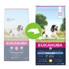 Eukanuba Mature & Senior Medium Breed с курицей