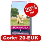 Eukanuba Puppy Large & Giant Breed – Lamb & Rice