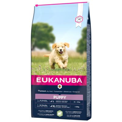 Eukanuba Puppy Large & Giant Breed Lamm & Reis