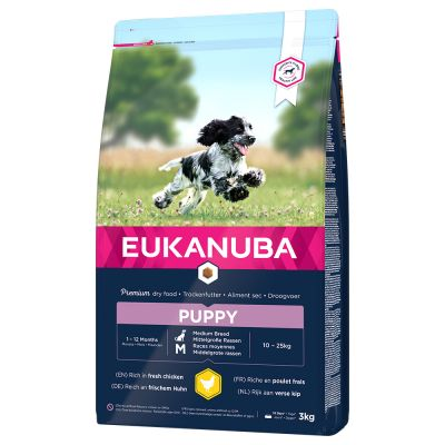 Eukanuba Puppy Medium Breed Huhn