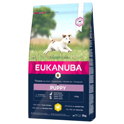 Eukanuba Puppy Small Breed Kip Hondenvoer