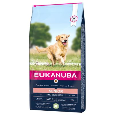 Eukanuba Senior Large & Giant Breed Lam & Rijst Hondenvoer
