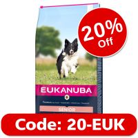 Eukanuba Senior Small & Medium Breed - Lamb & Rice