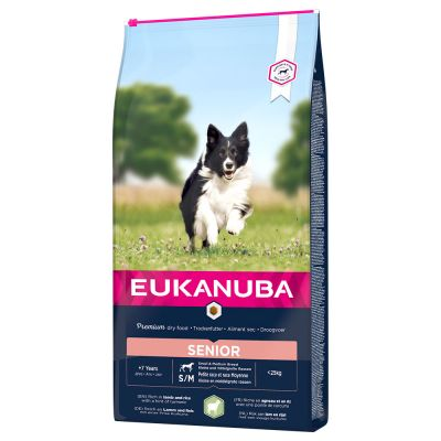 Eukanuba Senior Small & Medium Breed Lamm & Reis
