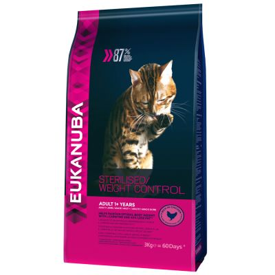 Eukanuba Sterilised / Weight Control Adult pour chat