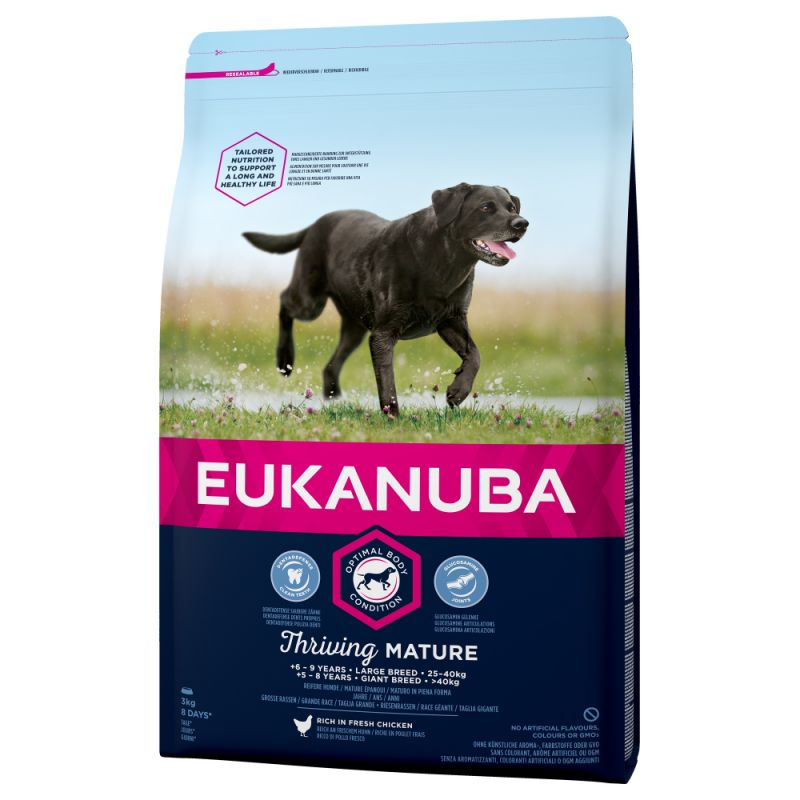 Eukanuba Thriving Mature Large Breed frango