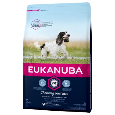 Eukanuba Thriving Mature Medium Breed - Chicken
