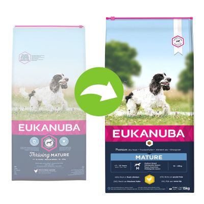 Eukanuba Thriving Mature Medium Breed Huhn