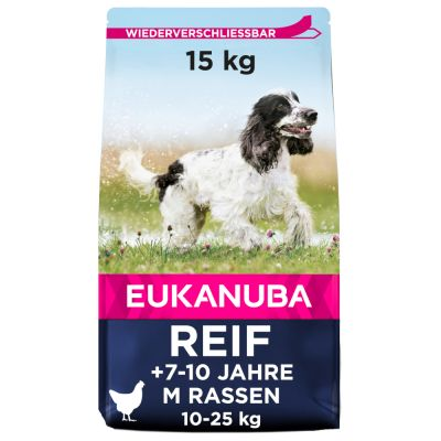 Eukanuba Thriving Mature Medium Breed Kuřecí
