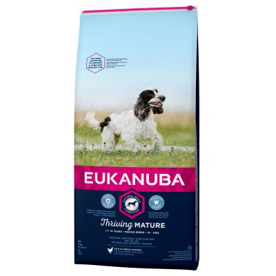 Eukanuba Thriving Mature & Medium Breed Pollo