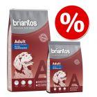5 EUR sparen: Briantos Trockenfutter 17 kg / 15 kg