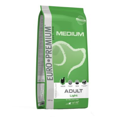 Euro Premium Medium Adult Light Hondenvoer