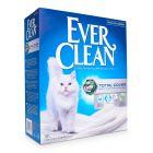 Ever Clean® Total Cover -kissanhiekka, paakkuuntuva - hajustamaton