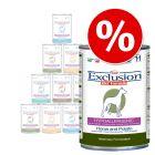 Exclusion Diet -lajitelma 12 x 400 g, monta makua