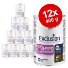 Exclusion Diet -säästöpakkaus 12 x 400 g