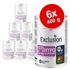 Exclusion Diet 6 x 400 g pour chien