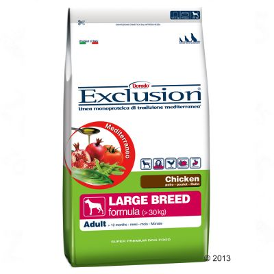 Exclusion Mediterraneo Adult Large mit Huhn