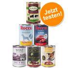 Exklusiver Nassfutter-Mix für Hunde 6 x 400 g
