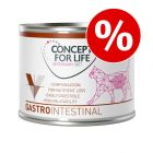 Extra voordelig! 6 x 200 g Concept for Life Veterinary Diet Gastro Intestinal
