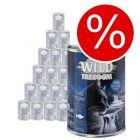 Extra lågt sparpris! Wild Freedom 24 x 200 / 400 g
