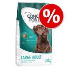Extra voordelig: 1,5 kg Concept for Life Hondenvoer