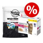 Extra voordelig! 1,4 kg Nutro Droogvoer + 12 x 85 g Perfect Fit Mixpack