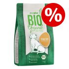 Extra voordelig! 1kg zooplus Bio Gevogelte Hondenvoer