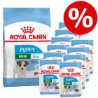 Extra voordelig! Royal Canin Puppy Size droogvoer + natvoer!