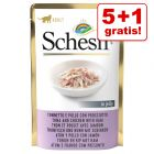 Extra voordelig! Schesir Kat Jelly Pouch 6 x 85 g