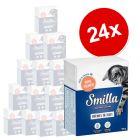 Extra voordelig! Smilla Hapjes in Saus  24 x 370 / 380 g Kattenvoer